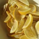 塩レモン(くし切り)の作り方