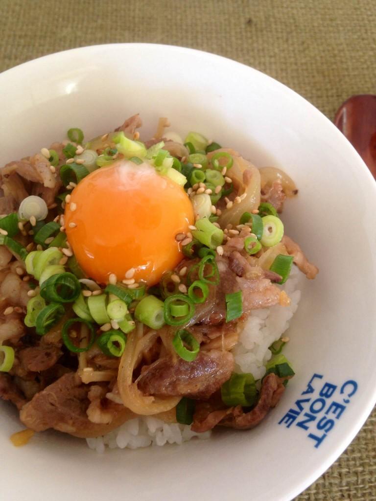 porkrice04 768x1024 塩レモン豚ハラミ丼♪