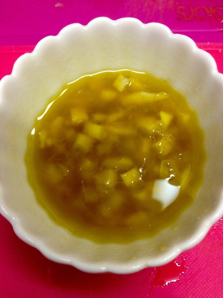 s 塩レモン カルパッチョ2 e1419065311519 塩レモンのカルパッチョdeかつおのタタキ♪
